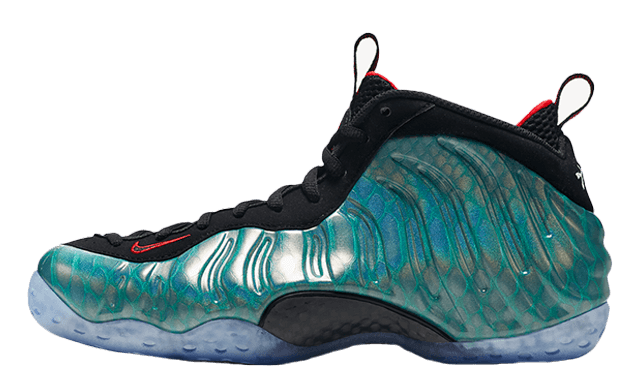 Nike air foamposite one gone fishing